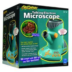 GEOSAFARI TALKING ELECTRONIC MICROSCOPE