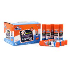 ELMERS ELMERS 30PK SCHOOL PURPLE GLUE STICKS DISAPPEARING WASHABLE