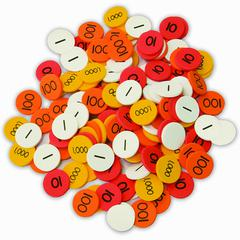 ESSENTIAL LEARNING PRODUCTS PLACE VALUE DISKS GR 1-3