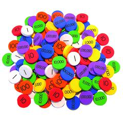 ESSENTIAL LEARNING PRODUCTS PLACE VALUE DISKS GR 3-6