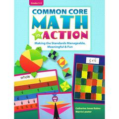 COMMON CORE MATH IN ACTION GR 3-5