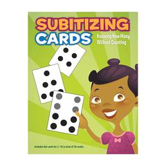 ESSENTIAL LEARNING PRODUCTS SUBITIZING CARDS