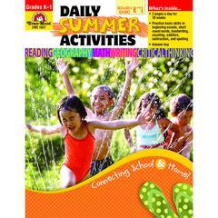 EVAN-MOOR DAILY SUMMER ACTIVITIES GR K-1