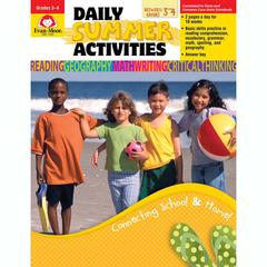 DAILY SUMMER ACTIVITIES GR 3-4