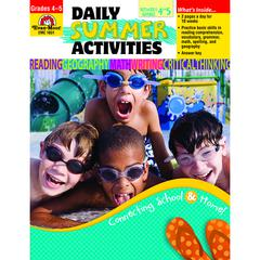 DAILY SUMMER ACTIVITIES GR 4-5