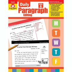 EVAN-MOOR DAILY PARAGRAPH EDITING GR 6