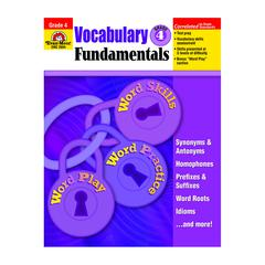 EVAN-MOOR VOCABULARY FUNDAMENTALS GR 4
