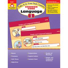 GR 1 TAKE IT TO YOUR SEAT COMMON CORE LANGUAGE CENTERS