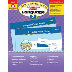 EVAN-MOOR GR 2 TAKE IT TO YOUR SEAT COMMON CORE LANGUAGE CENTERS