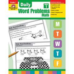 EVAN-MOOR DAILY WORD PROBLEMS GR 1