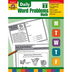 EVAN-MOOR DAILY WORD PROBLEMS GR 3