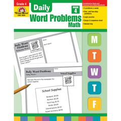 EVAN-MOOR DAILY WORD PROBLEMS GR 4