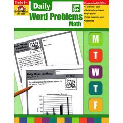 EVAN-MOOR DAILY WORD PROBLEMS GR 6