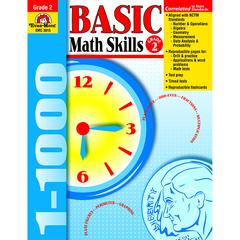EVAN-MOOR BASIC MATH SKILLS GR 2