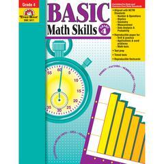 EVAN-MOOR BASIC MATH SKILLS GR 4