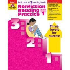 EVAN-MOOR NONFICTION READING PRACTICE GR 1
