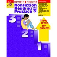 EVAN-MOOR NONFICTION READING PRACTICE GR 3
