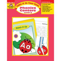 EVAN-MOOR TAKE IT TO YOUR SEAT PHONICS CENTERS LEVEL A