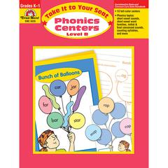 EVAN-MOOR TAKE IT TO YOUR SEAT PHONICS CENTERS LEVEL B