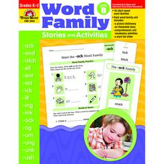 BOOK WORD FAMILY LEVEL B STORIES & ACTIVITIES