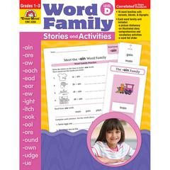 EVAN-MOOR BOOK WORD FAMILY LEVEL D STORIES & ACTIVITIES