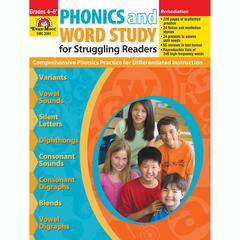 EVAN-MOOR PHONICS & WORD STUDY FOR STRUGGLING READERS