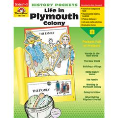 EVAN-MOOR HISTORY POCKETS LIFE IN PLYMOUTH COLONY