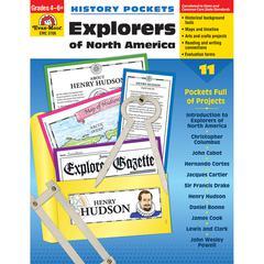 HISTORY POCKETS EXPLORERS OF NORTH AMERICA