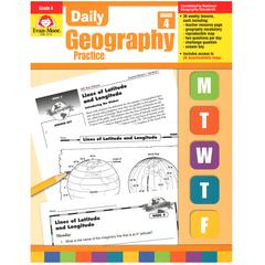 EVAN-MOOR DAILY GEOGRAPHY PRACTICE GR 4