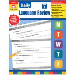 EVAN-MOOR DAILY LANGUAGE REVIEW GR 1