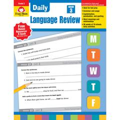 EVAN-MOOR DAILY LANGUAGE REVIEW GR 3