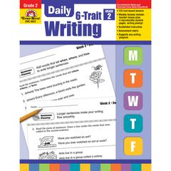 EVAN-MOOR DAILY 6 TRAIT WRITING GR 2
