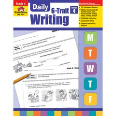 EVAN-MOOR DAILY 6 TRAIT WRITING GR 4