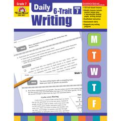 EVAN-MOOR DAILY 6 TRAIT WRITING GR 7