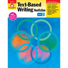 EVAN-MOOR GR 3 TEXT BASED WRITING LESSONS FOR COMMON CORE MASTERY
