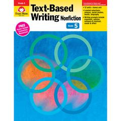 EVAN-MOOR GR 5 TEXT BASED WRITING LESSONS FOR COMMON CORE MASTERY