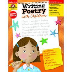 EVAN-MOOR WRITING POETRY WITH CHILDREN GR 1-6