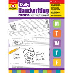 EVAN-MOOR DAILY HANDWRITING MOD. MANUSCRIPT
