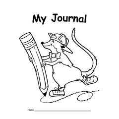 EDUPRESS MY JOURNAL PRIMARY 10-PK