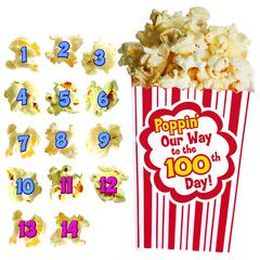 EDUPRESS 100 DAYS OF POPCORN BB SET