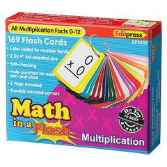 MATH IN A FLASH MULTIPLICATION FLASH CARDS