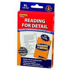 EDUPRESS READING FOR DETAIL - 3.5-5.0
