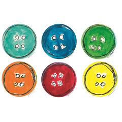 PETE THE CAT GROOVY BUTTONS ACCENTS 36 PK