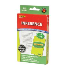EDUPRESS INFERENCE PRACTICE CARDS READING LEVELS 5.0-6.5