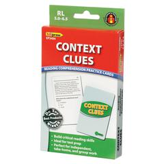 CONTEXT CLUES PRACTICE CARDS READING LEVELS 5.0-6.5