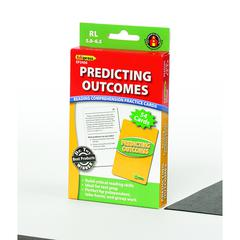 EDUPRESS PREDICTING OUTCOMES READING COMPREHENSION PRACTICE CARDS GREEN