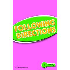EDUPRESS FOLLOWING DIRECTIONS PRACTICE CARDS READING LEVEL 5.0-6.5