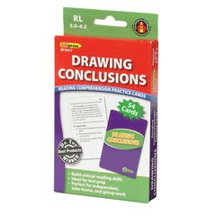 EDUPRESS DRAWING CONCLUSIONS CARDS READING LEVELS 5.0-6.5