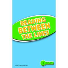EDUPRESS READING BETWEEN THE LINES PRACTICE CARDS READING LEVEL 5.0-6.5