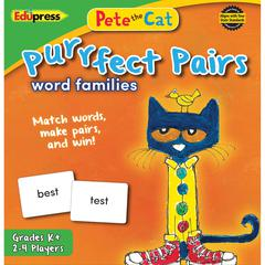 PETE THE CAT PURRFECT PAIRS WORD FAMILIES GAME